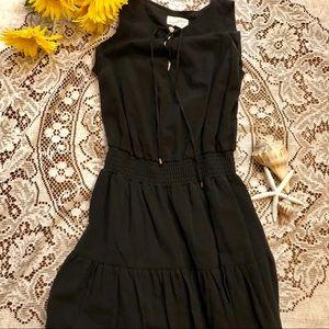 Universal Thread black sleeveless ruffle dress